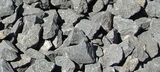 Basalt Crushed Rock - Delivery in Dallas, Fort Worth, Austin, San Antonio, and Houston.