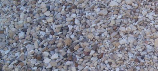 3/4 river rock brown