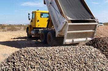 Sand, Gravel, Rock, Dirt, Soil Delivery in Dallas, Fort Worth, Austin, San Antonio, and Houston Texas