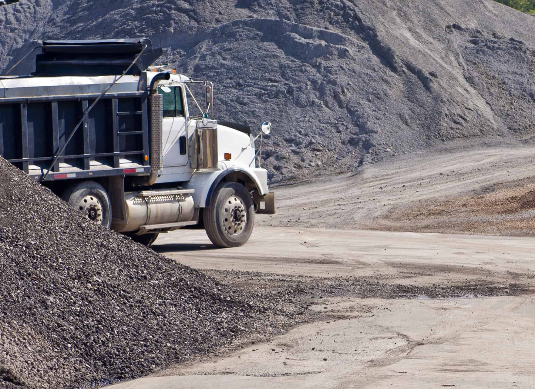 Sand & Gravel Dump Truck Delivery - Dallas, Ft. Worth, Austin, Texas