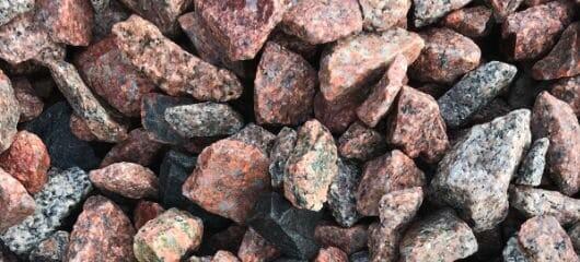 Crushed Granite Landscape Rock
